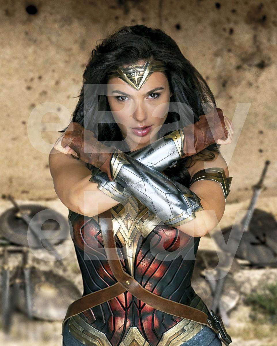 Wonder Woman 2017 Gal Gadot 10x8 Photo Ebay